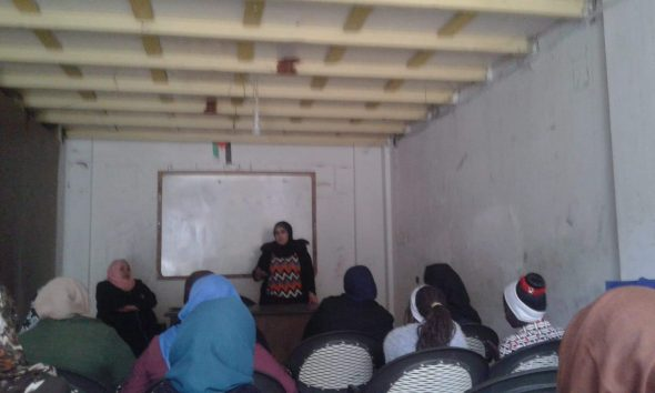 اتحاد لجان العمل النسائي ينظم ندوة بعنوان:(التبول اللاإرادي عند الأطفال)