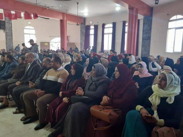 شمال غزة : اتحاد لجان العمل النسائي يشارك بالحفل التراثي الذي نظمته «الديمقراطية» بمناسبة انطلاقتها الـ51.
