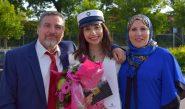 طالبة فلسطينية تحتل المركز الأول في شهادة الثانوية العامة بالدنمارك
