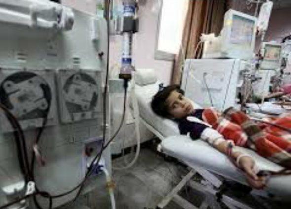 اللجنة الصحية في«لجان العمل النسائي» تحذر من كارثة إنسانية على الأطفال المرضى في قطاع غزة جراء انقطاع الكهرباء