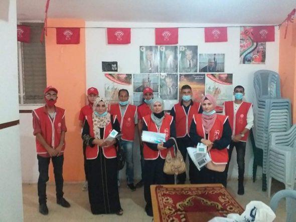 بدعوة من «الوحدة العمالية » «العمل النسائي» «الطلبة الثانويين  » حملة توعوية للحد من مخاطر كورونا بالدرج.
