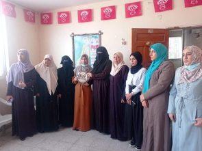 """""""العمل النسائي"""" بالديمقراطية يستقبل نظيره من """"العمل النسائي"""" بحركة حماس"""